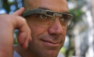 Photo of Google Glass wearer by Loïc Le Meur via Flickr Creative Commons