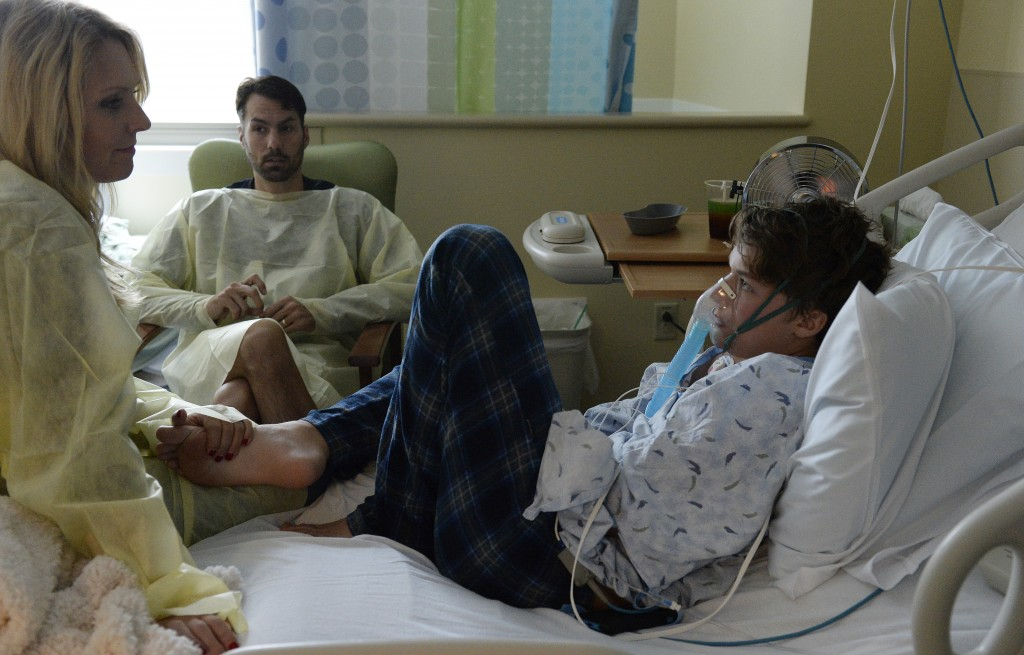 13-year-old Will Cornejo was admitted to Rocky Mountain  Hospital for Children at Presbyterian/St. Luke's Medical Center in Denver on September 5 for enterovirus 68. The outbreak has shown up in 628 cases in the U.S. to date, some of which show disconcerting similarities to polio. Photo courtesy Getty/Denver Post/Cyrus McCrimmon.