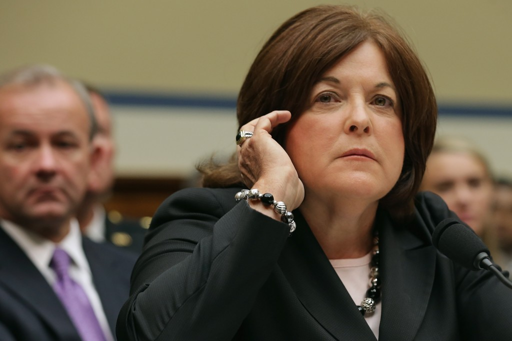Secret Service Director Julia Pierson testifies at the House Oversight and Government Reform Committee about the White House perimeter breach on Sept. 30 in Washington, D.C. Photo by Chip Somodevilla/Getty Images