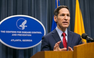 CDC Chief Thomas Frieden holds a press conference. (Photo by Jessica McGowan/Getty Images)