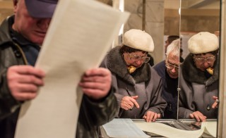 Ukrainian Voters Head To The Polls For The General Election