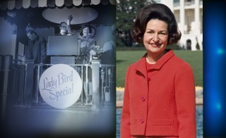 50 YEARS ON monitor lady bird johnson whistle stop