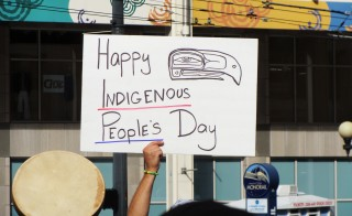 "Seattle has declared Columbus Day ""Indigenous People's Day."" Photo by Flickr user nicholasbross"