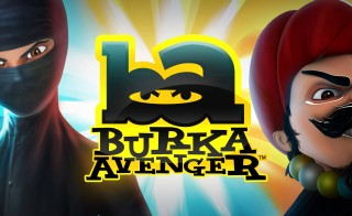 "Pakistan's first animated female superhero, Burka Avenger (left),  is the latest to join the fight against polio, amid a rise in cases in the country this year. In an October episode of ""Burka Avenger"",  the heroine fights to protect polio vaccines from being destroyed by Baba Bandook (right), the shows main villain. Image courtesy of Unicorn Black Productions."