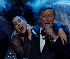 """Tony Bennett and Lady Gaga perform """"I Won't Dance"""" during a PBS """"Great Performances"""" TV special."""