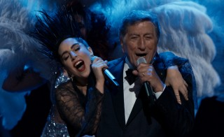 "Tony Bennett and Lady Gaga perform ""I Won't Dance"" during a PBS ""Great Performances"" TV special."