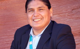 Chris Deschene was running for Navajo Nation president. Photo from candidate's Facebook page