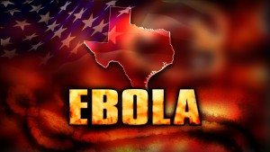 EBOLA  texas us flag monitor