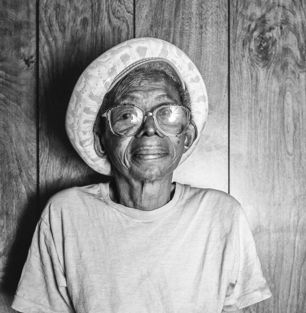Willie Mae Buckner and Siam, Winston-Salem, North Carolina, 1994.