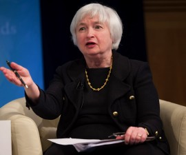 Janet Yellen has her priorities straight, says Paul Krugman. Photo by IMF Staff Photograph/Stephen Jaffe via Flickr user International Monetary Fund.
