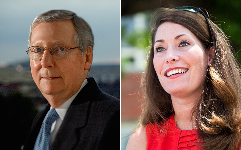 McConnell – Grimes Debate – Recorded Earlier #KYSEN