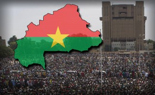 POWER SHIFT  burkina faso monitor protesters