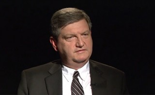 New York Times Journalist James Risen sat down for an interview with Judy Woodruff in October, 2014.