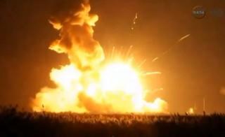 Rocket explode