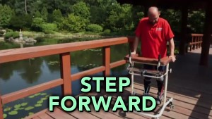 Step Forward MAN PARALYZED walik monitor