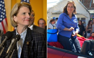 Watch the West Virginia debate for U.S. Senate at 7 p.m. EDT tonight, featuring Rep. Shelley Moore Capito (R), pictured at left, and West Virginia Secretary of State Natalie Tennant (D), right.