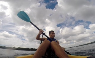 Daniel Hernandez, 16, is a student with autism at American Senior High School in Miami, Florida and has learned how to kayak and sail as part of his Physical Education classes.