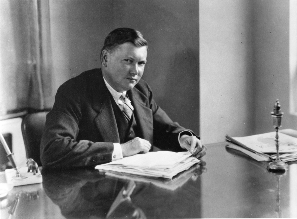 Ralph Peer in the 1930s. Photo courtesy of the Peer family archives