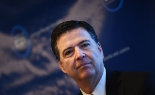 Federal Bureau of Investigation director James Comey Photo by Jewel Samad/AFP/Getty Images