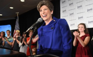 U.S. Senator Joni Ernst, who is a Lt. Colonel in the Iowa Army National Guard, will deliver the GOP's response to President Barack Obama's State of the Union address Tuesday. Photo by Jonathan Newton/The Washington Post via Getty Images
