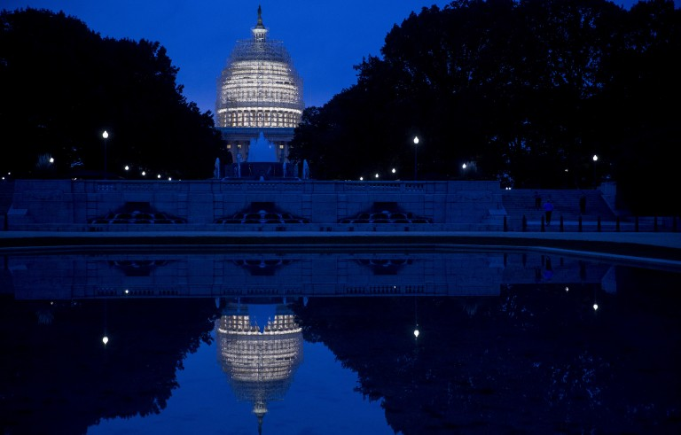 Views Of The U.S. Capitol As Republicans Take Control Of The Senate