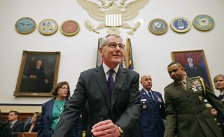 Hagel And Dempsey Testify At House Armed Services Committee Hearing On ISIL