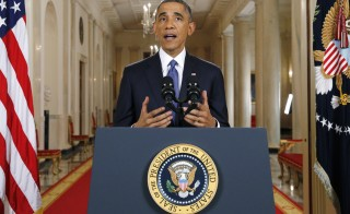 U.S. President Barack Obama announced executive actions on U.S. immigration policy during a nationally televised address from the White House in Washington, Nov. 20, 2014. Obama outlined a plan on Thursday to ease the threat of deportation for about 4.7 million undocumented immigrants. Photo by Jim Bourg/Reuters
