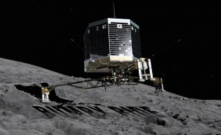 BUMPY RIDE monitor Philae lander