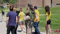 """what it feels like for the veteran to come home and sometimes experience two different realities at once."""""""