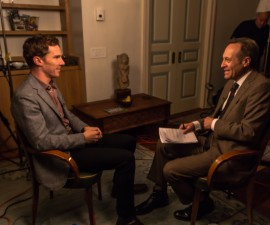 """Benedict Cumberbatch spoke with Jeffrey Brown about his roles in """"The Imitation Game,"""" a new Richard III television production and """"Sherlock,"""" which airs on PBS. Photo by Frank N. Carlson."""
