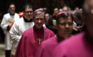 Pope Francis surprised many observers of the Roman Catholic Church when he installed Blase Cupich, a humble bishop from Spokane, Washington, to be the next archbishop of Chicago. Photo by Joshua Lott/Getty Images