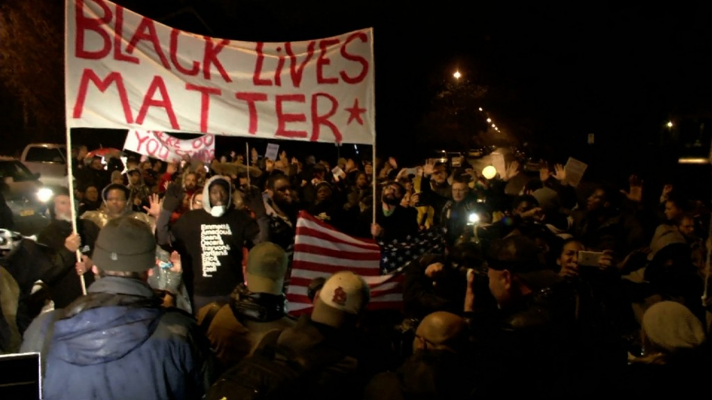 Protests are expected around the country after the announcement from the St. Louis County prosecutor's office on the grand jury's decision involving police officer Darren Wilson.