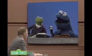 Robert MacNeil Sesame Street