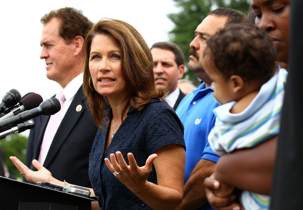 "Former Rep. and GOP presidential nominee Michele Bachmann was roundly criticized for claiming in 2011 that the vaccine for HPV can lead to ""mental retardation."""