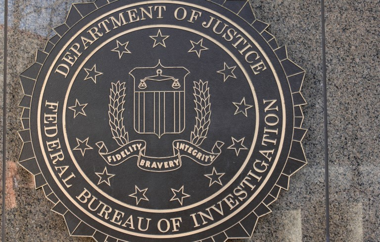 File photo of the Federal Bureau of Investigation building in Washington, D.C. by Rich Clement/Bloomberg