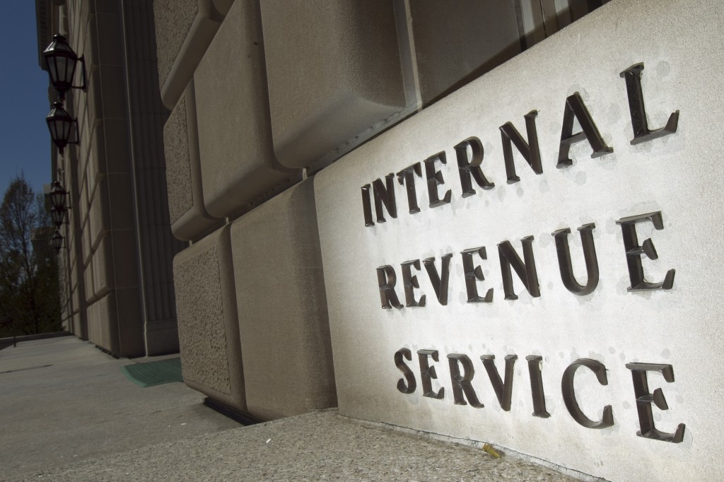 The Internal Revenue Service (IRS) building stands in Washington, D.C., U.S., on Wednesday, April 6, 2011. The IRS would have to suspend tax audits, the Small Business Administration's processing of loan applications would be halted and National Parks would close if the federal government is forced into a partial shutdown because of the budget impasse in Congress. Photographer: Andrew Harrer/Bloomberg via Getty Images