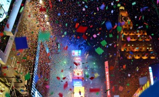 Times Square on New Year's Eve 2014. Photo by Flickr user gigi_nyc.