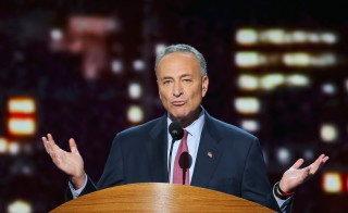 Sen. Chuck Schumer (D-NY) said he will oppose the Iran nuclear deal. Photo by Joe Raedle/Getty Images