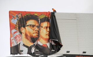 "On Wednesday Sony Pictures canceled the release of ""The Interview,"" a movie about an assassination plot against North Korean leader Kim Jong-un, after the nation's largest theater chains had said they wouldn't play the movie. Sony has been the target of a large-scale hack of its computer data, with a group calling itself the Guardians of Peace claiming responsibility for near-daily leaks. Photo by Michael Thurston/AFP/Getty Images"