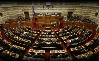 GREEK TURMOIL greek parliament monitor