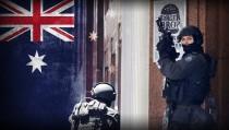 HOSTAGE STAND OFF TERROR DOWN UNDER monitor