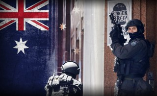 HOSTAGE STAND OFF TERROR DOWN UNDER monitor