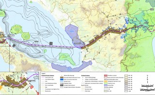 The Chinese firm HKND has a contract to build the Nicaraguan Canal and operate it for 50 years. Nicaragua Canal Project Overview image from HKND