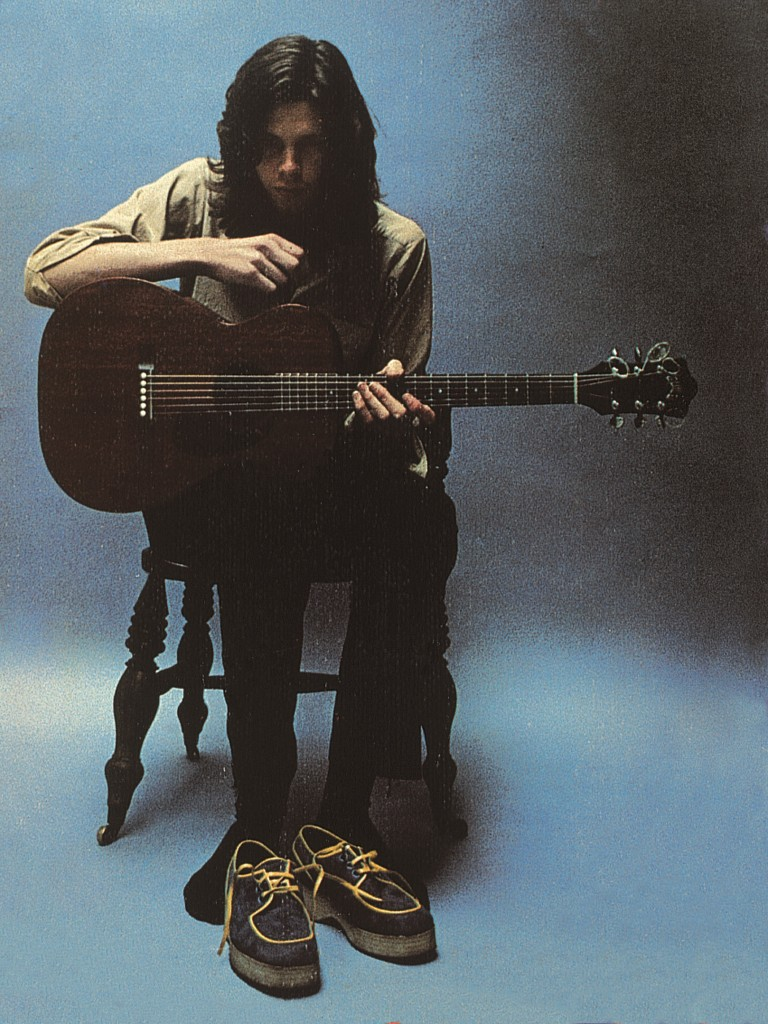 "The front cover of ""Bryter Layter,"" Nick Drake's second album. Photo by Nigel Waymouth"