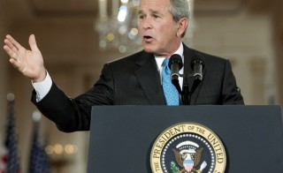 U.S. President George W. Bush delivered a speech on the CIA's program hold and interrogate terrorism detainees on September 6, 2006. The Senate's 2014 Intelligence report has called many of Bush's statements into question.  Photo by Jim Young/Reuters