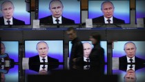 RUSSIAN REALITY monitor putin TV