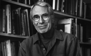 Portrait of US Poet Laureate Mark Strand, New York, New York, 2000. Photo by Chris Felver/Getty Images