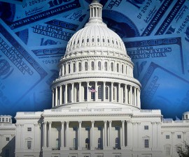 TRILLION DOLLAR  DEAL monitor capitol dome money