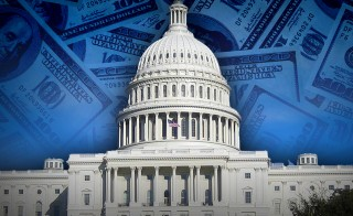 TRILLION DOLLAR  DEAL monitor capitol dome money