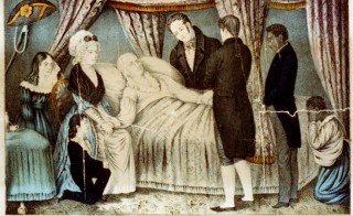 """Death of Washington, Dec. 14. A.D. 1799"" from the Library of Congress"